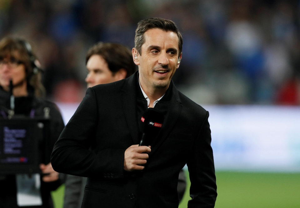 Neville hit the nail on the head again with his analysis