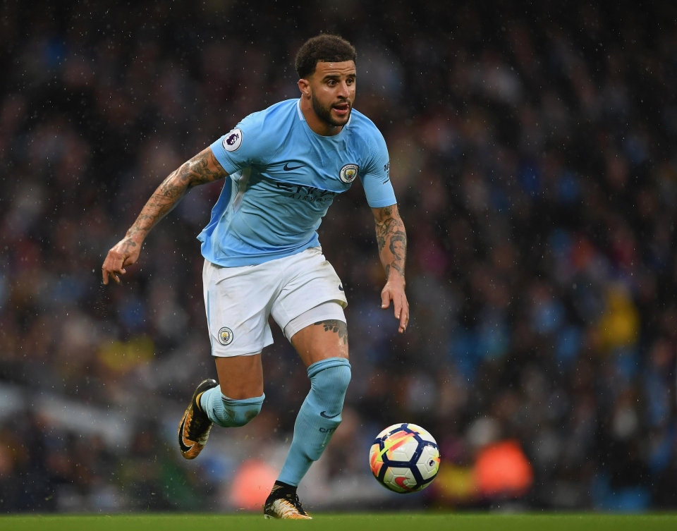 Walker has already become a key figure for Manchester City