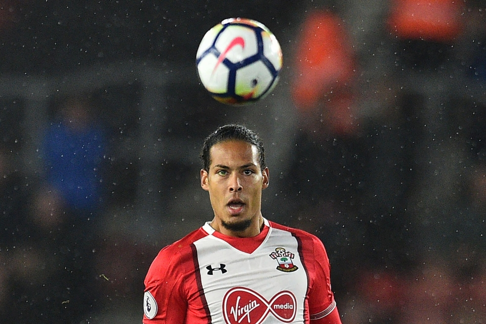 Liverpool are expected to go back in for Southampton ace Virgil van Dijk
