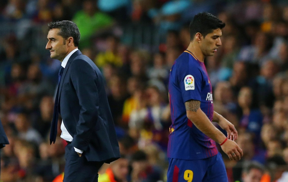 Suarez's body language has been loud and clear
