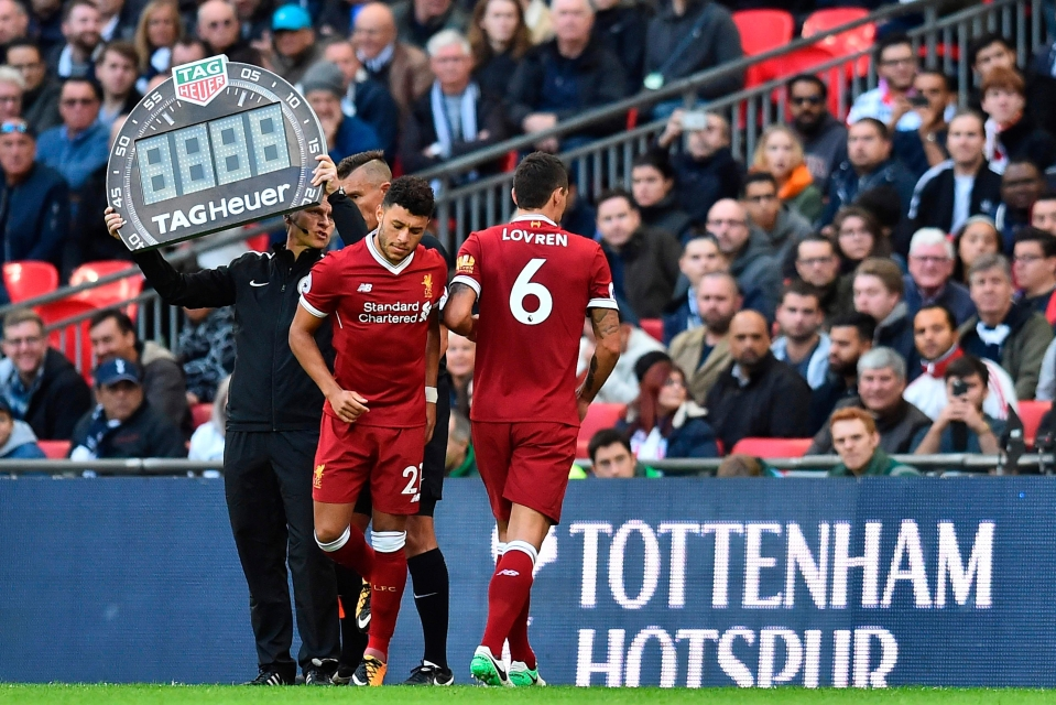Dejan Lovren had a shocker of a Sunday against Tottenham