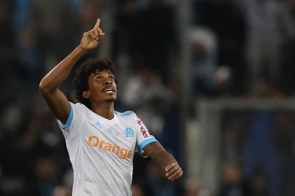 Gustavo opened the scoring against PSG