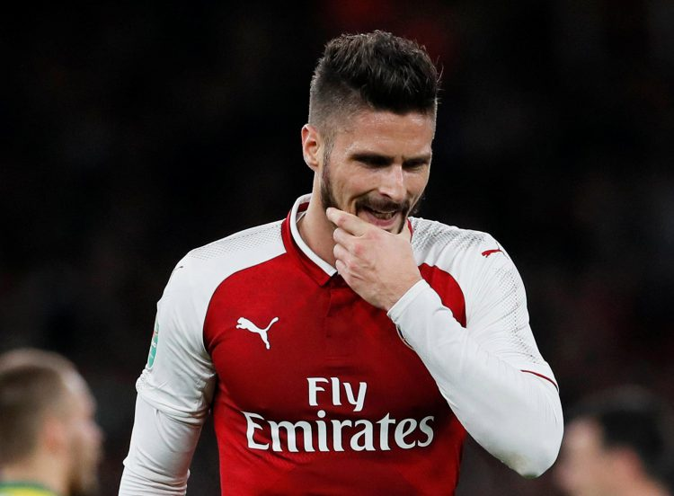 olivier giroud reveals which huge club he was moments away from joining in the summer. Black Bedroom Furniture Sets. Home Design Ideas