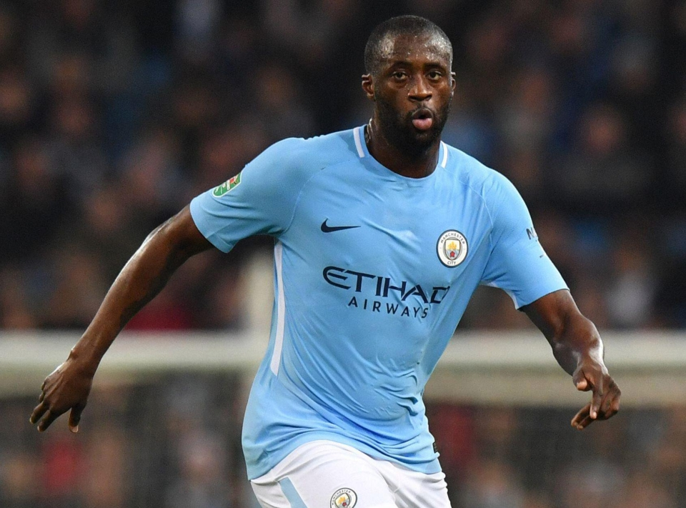 Toure is bidding City farewell