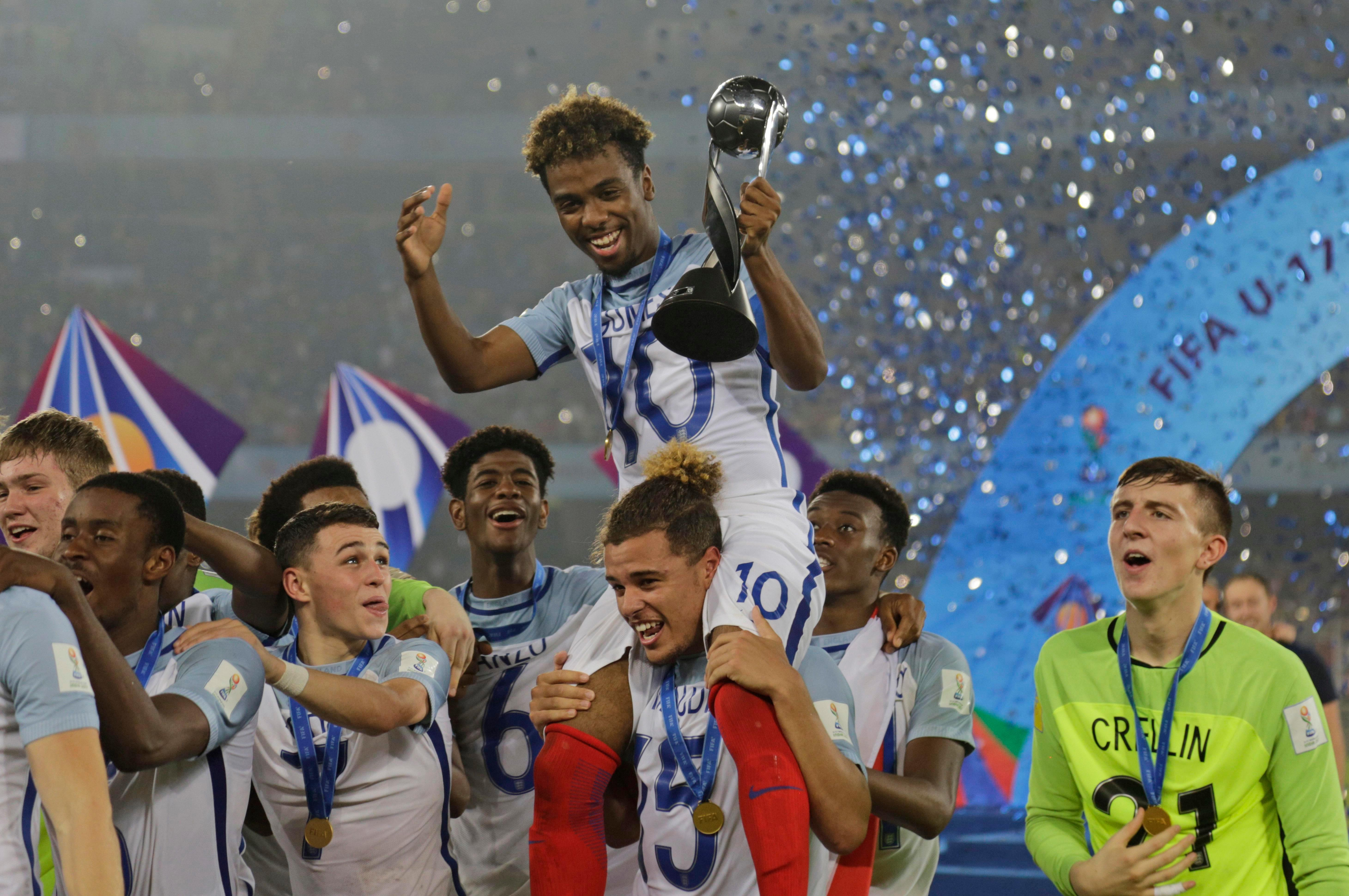 Latibeaudiere helped carry England to their first ever U-17 World Cup