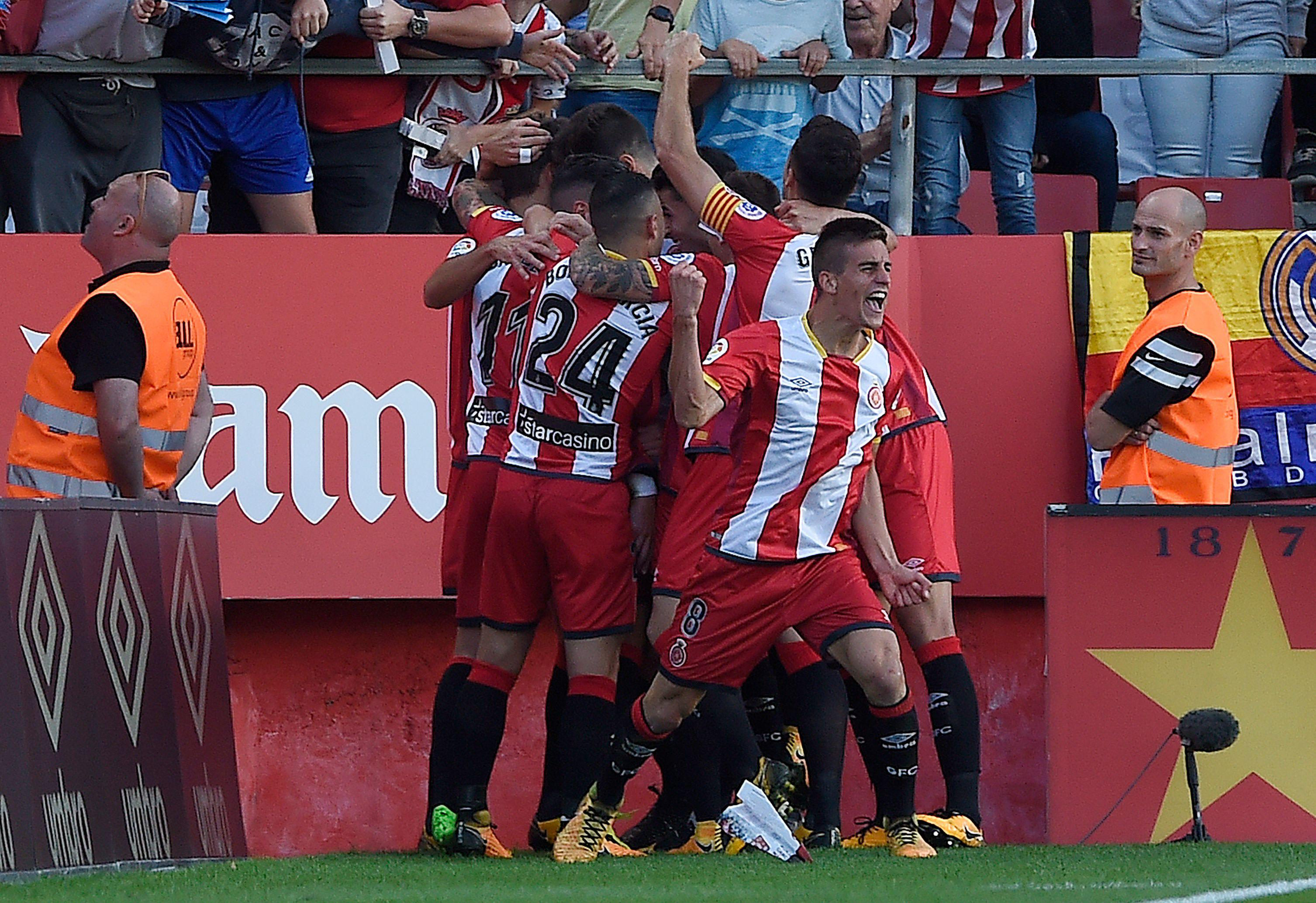 Girona played out on their skins
