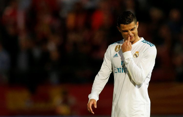 Get stuck in Cristiano