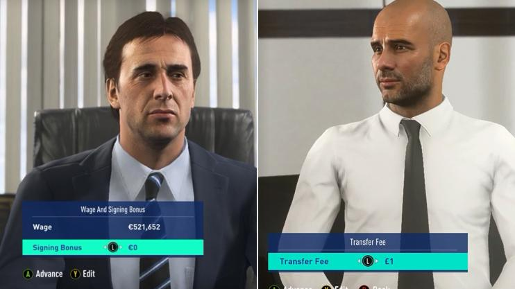 FIFA 19: There's a way of playing as real managers in Career Mode