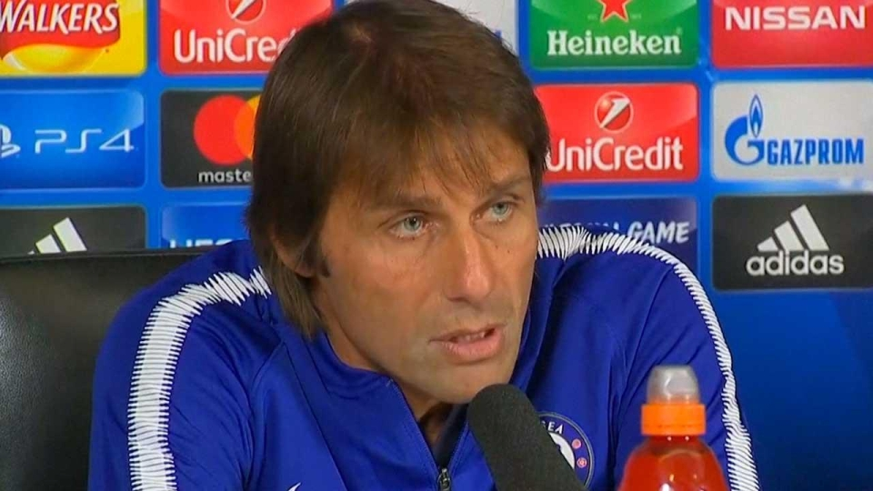 Morata's words with worry Conte