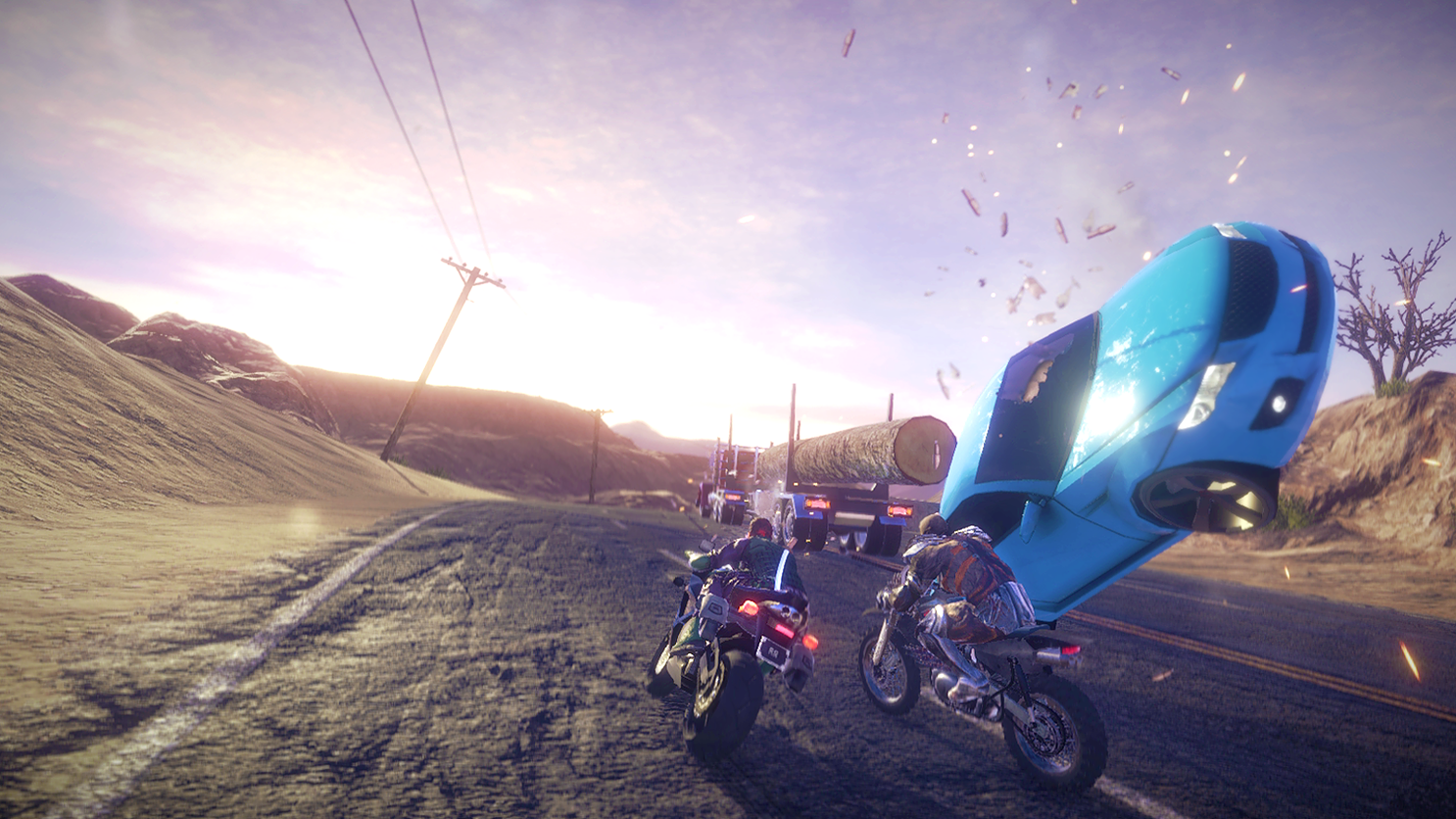 It may not be much to look at, but Road Redemption still serves up action-packed thrills