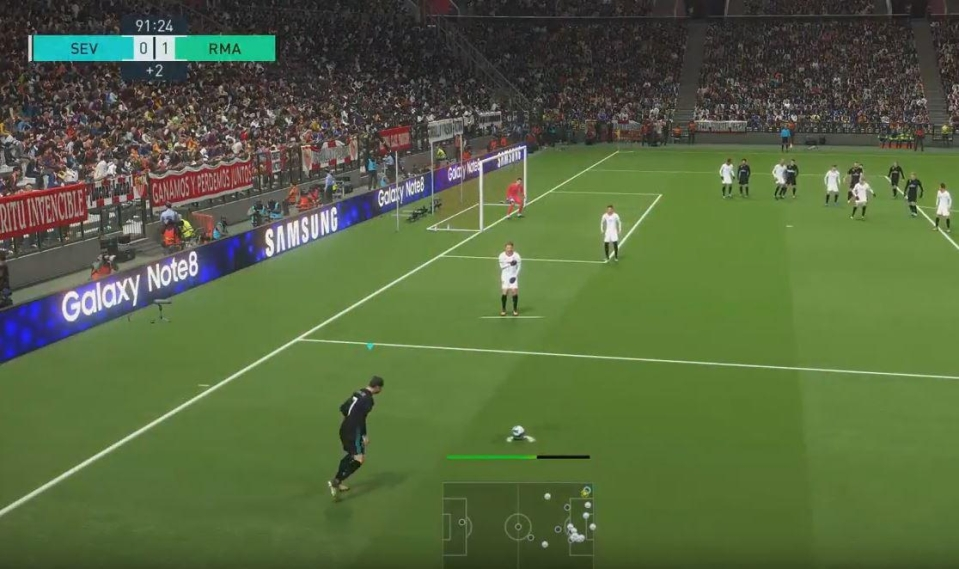 With a bit of practice you'll be banging them in every time – that's until Konami fixes the bug