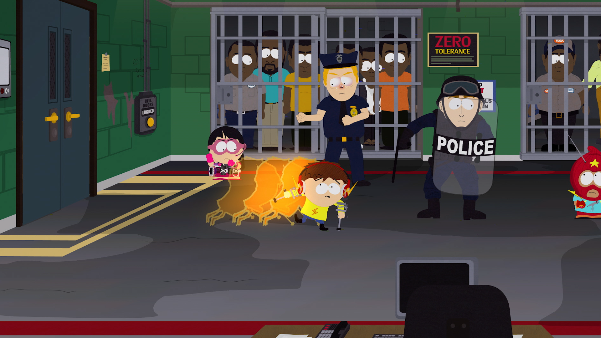 Some of the content in the South Park game will likely offend