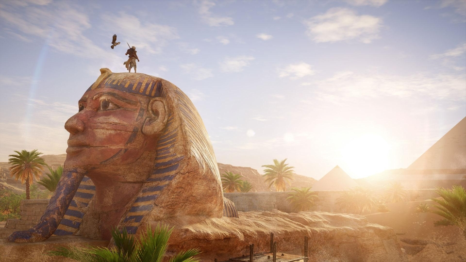 Stealth still plays a part, and Bayek is able to use his eagle to survey enemy camps from above