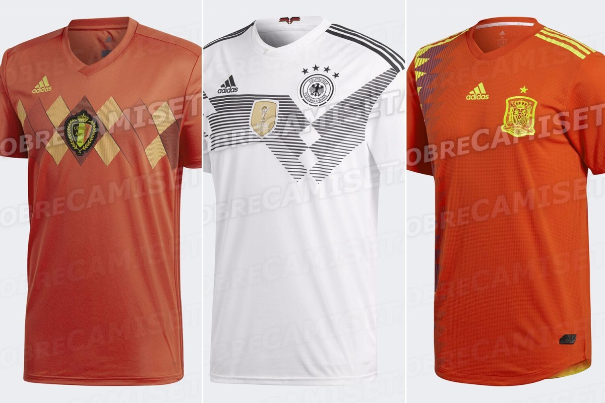 c34e6346e02 Seven World Cup 2018 kits have been LEAKED ahead of official release