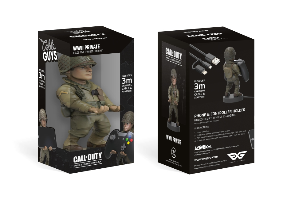 This cute holder is a must-have for COD fans