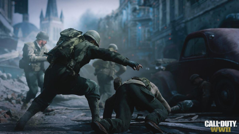 Violence in COD WWII is incredibly realistic and worthy of its 18 certificate