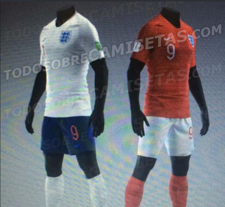 759dfdc4824 A load of Nike 2018 World Cup kits have reportedly been leaked