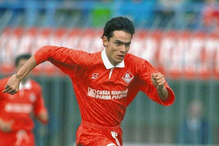 Filippo Inzaghi in his early years at Piacenza