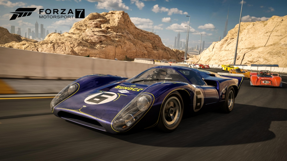 Forza 7 gives us a taster of the X's substantial fire power