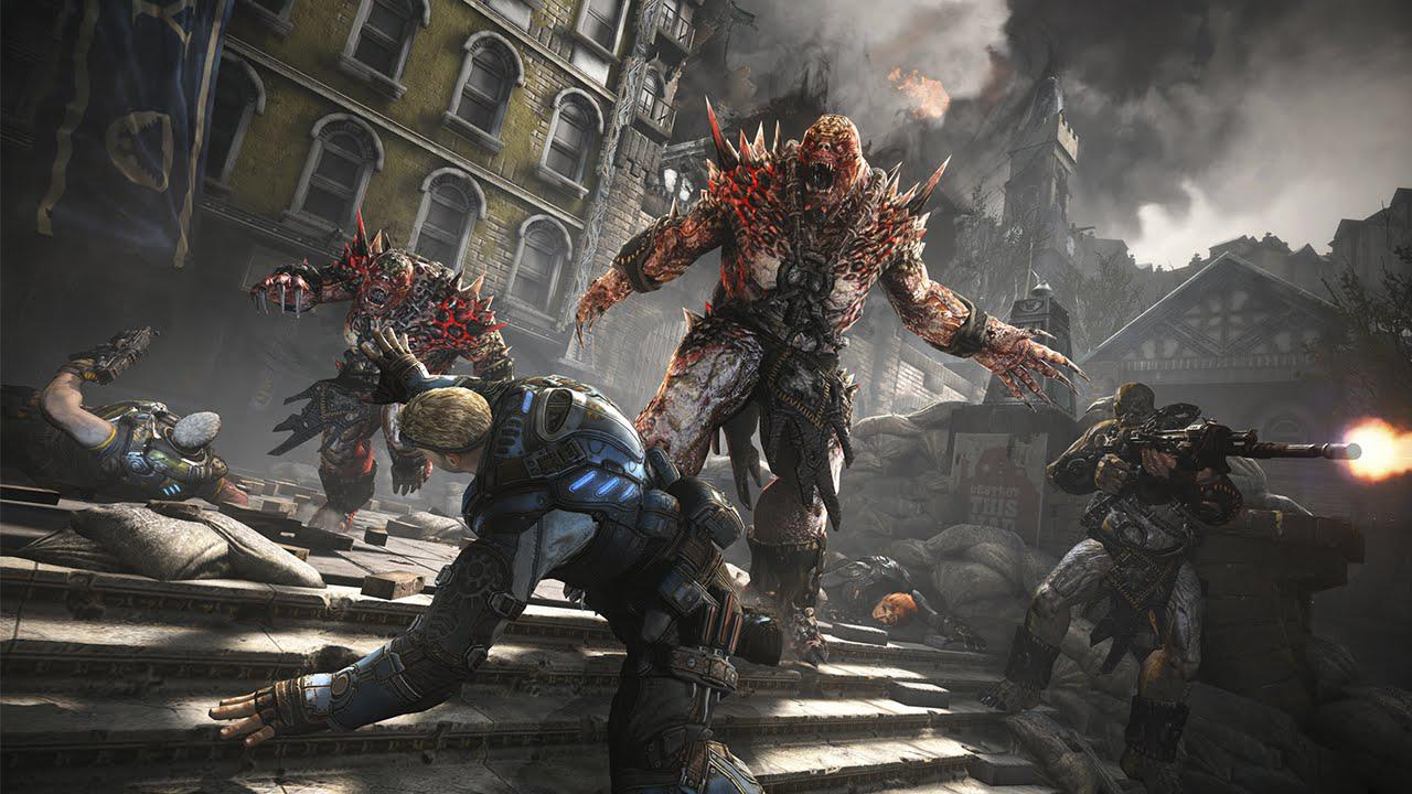 Gears of War 4 looks much better on the X than on the S – which will please graphics purists