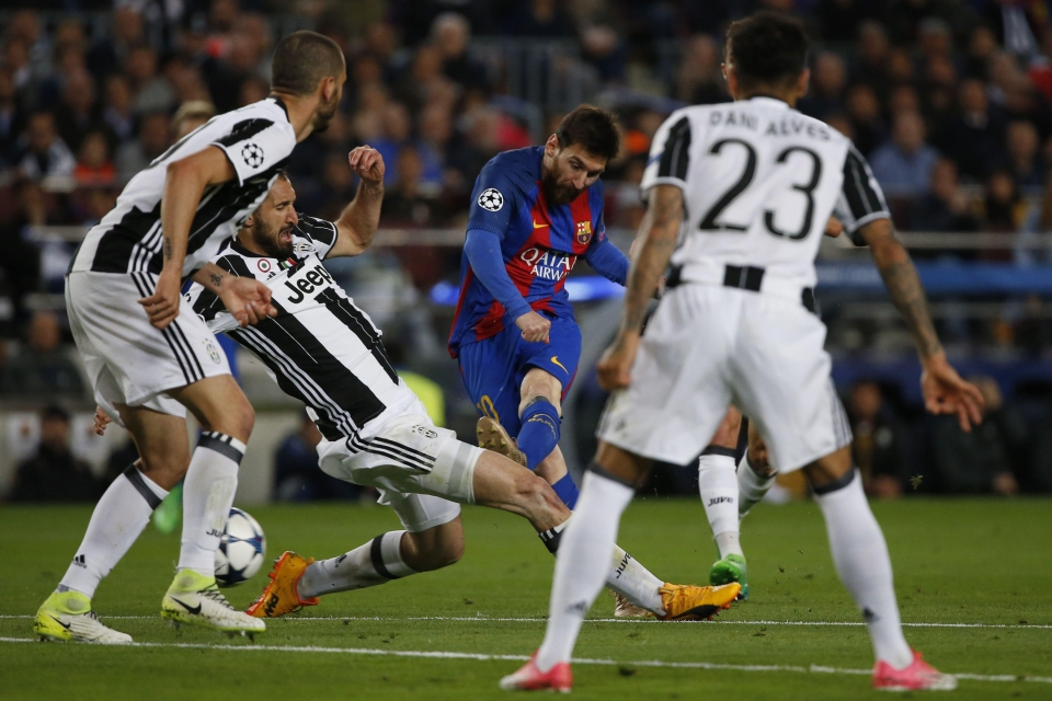 Last season Juve contained Messi… but not so much earlier this campaign