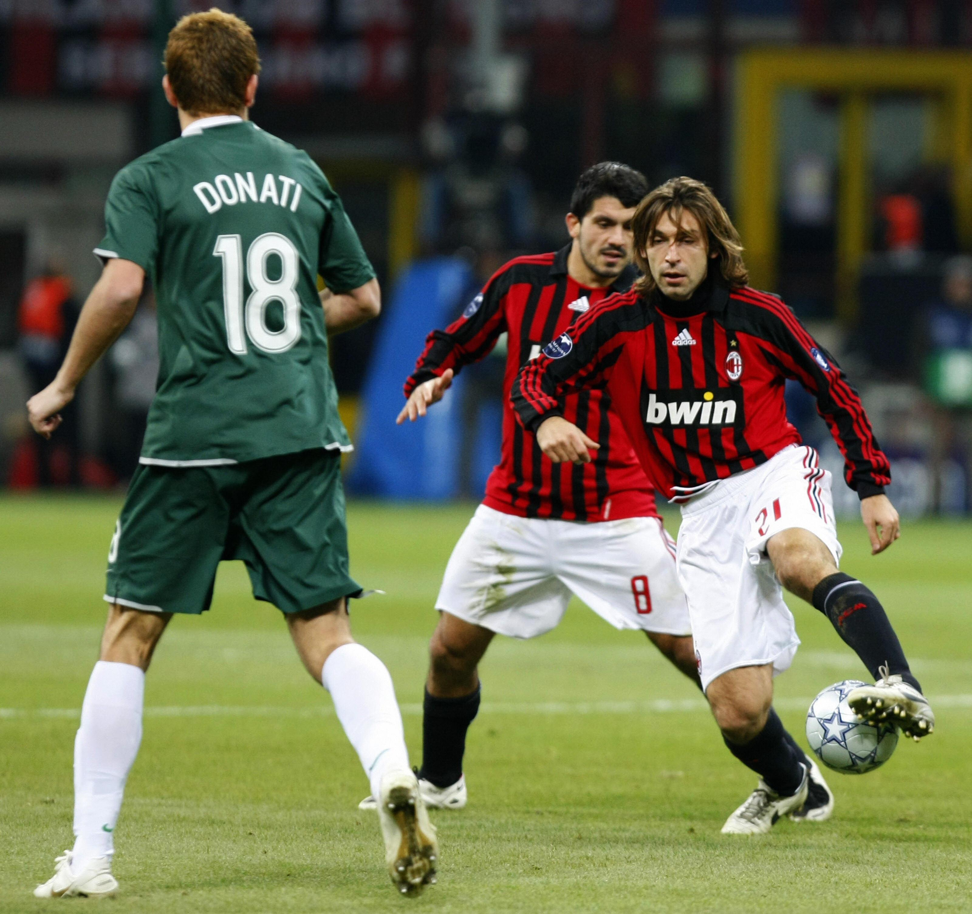 The pair formed a deadly partnership at the Rossoneri