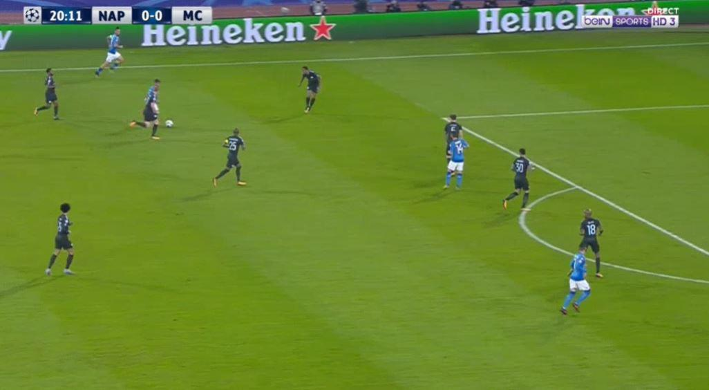 Insigne drives from deep