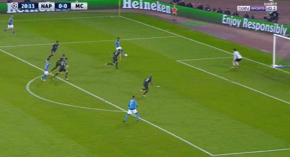 Mertens instantly finds Insigne again