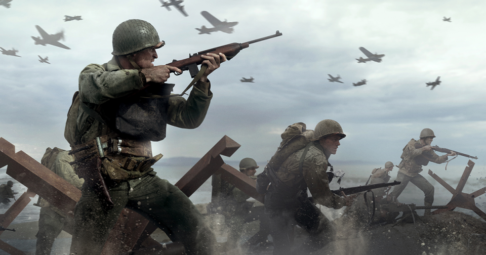The COD WWII Normandy beach assault is particularly harrowing