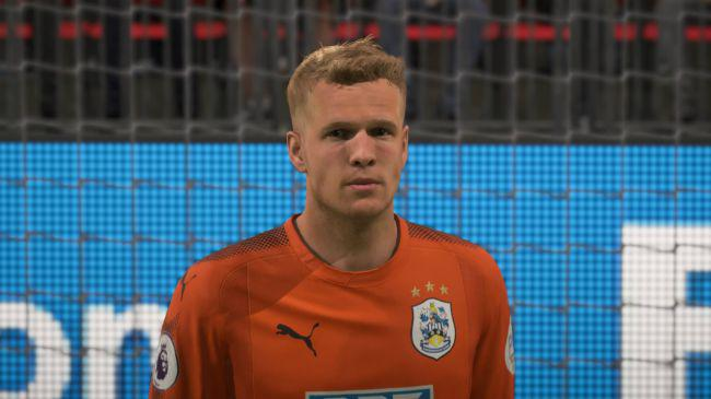 Lossl is one of the Hudderfield players to get a more realistic face