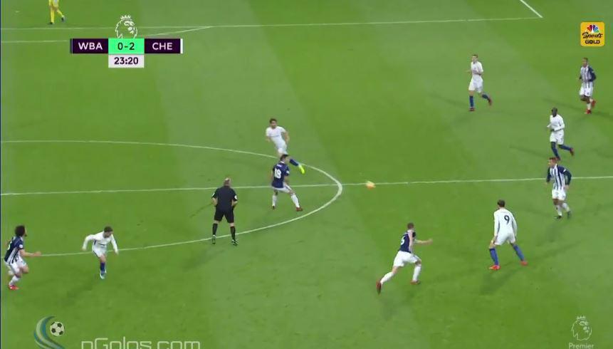 Fabregas pinged it into Morata's feet…