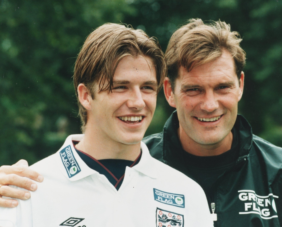 Beckham a hundred hairstyles ago