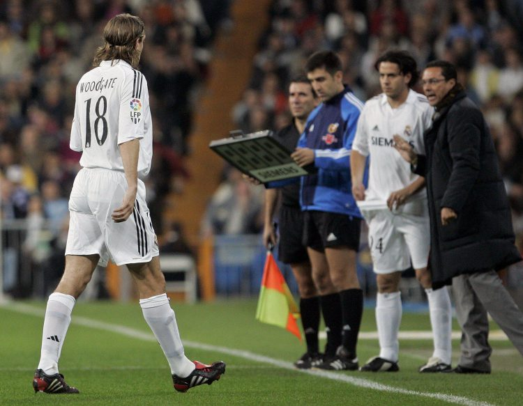Luxemburgo had the honour of managing Jonathan Woodgate at Real Madrid