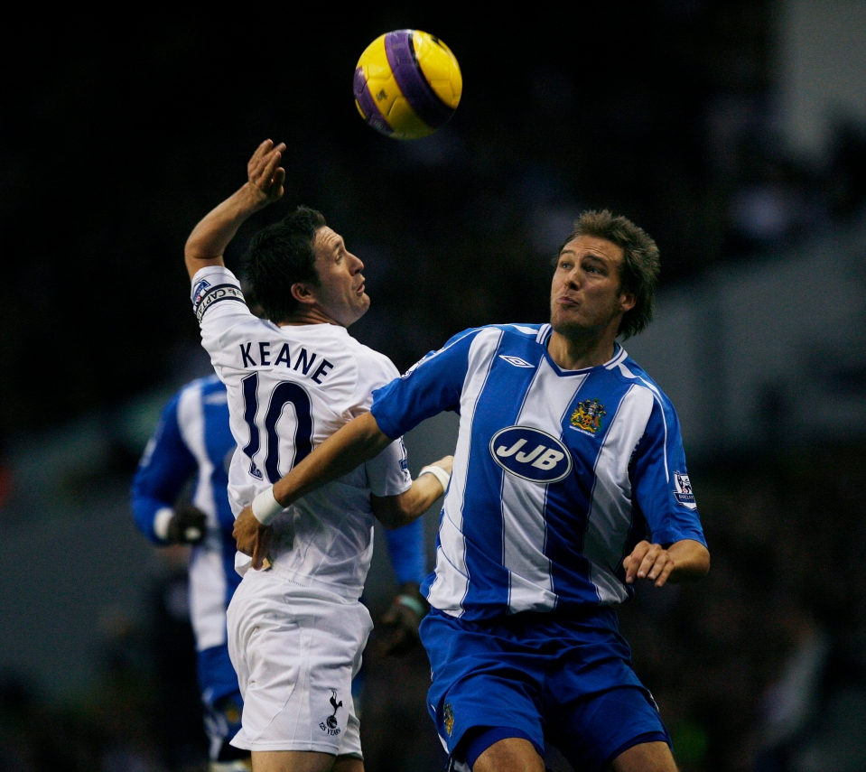 Granqvist had just a single season with Wigan in the mid 00s