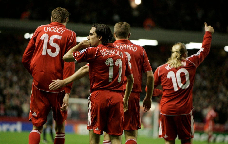 Liverpool smashed Besiktas for eight