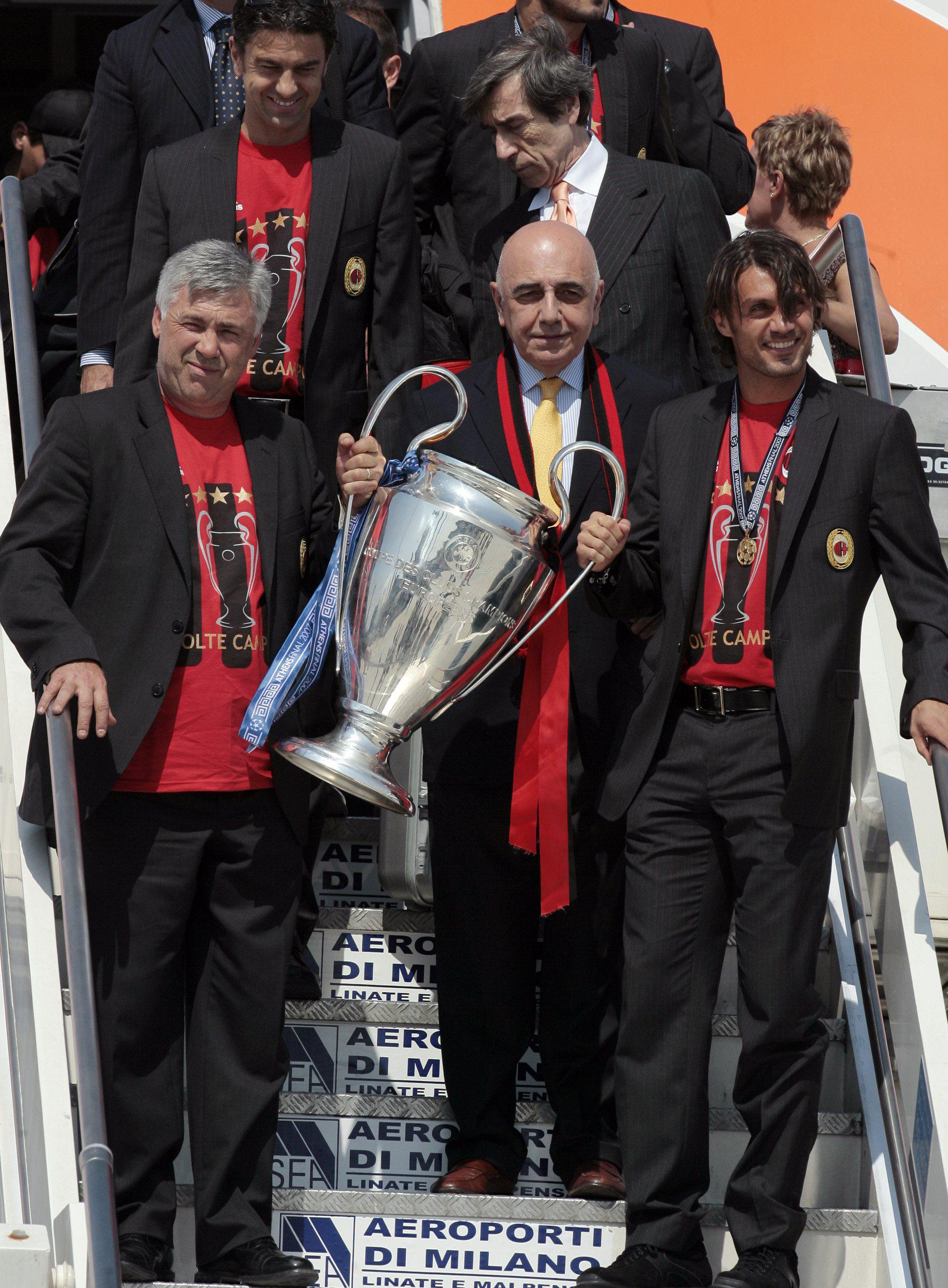 Ancelotti and Maldini certainly know how to win together