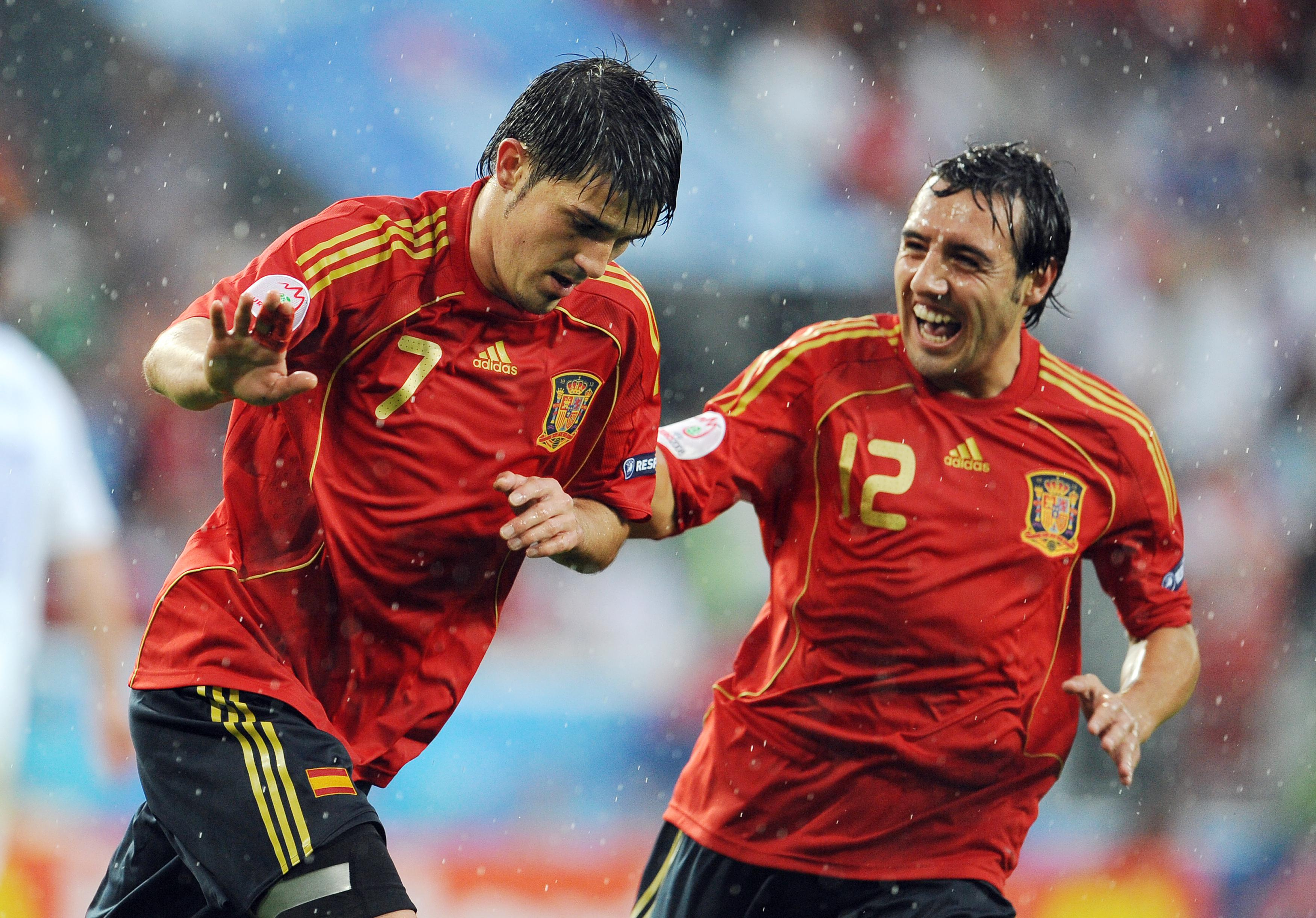 Cazorla has received almost daily encouragement from his teammates, including David Villa