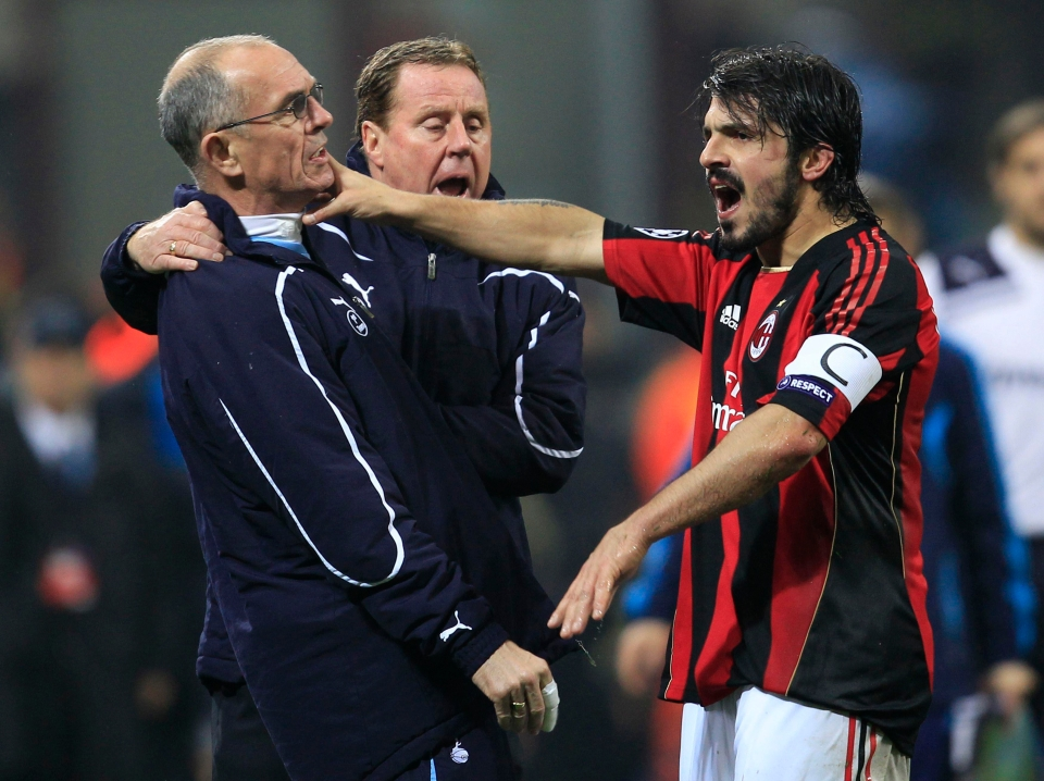 Gattuso is the guy who once tried to start on Joe Jordan