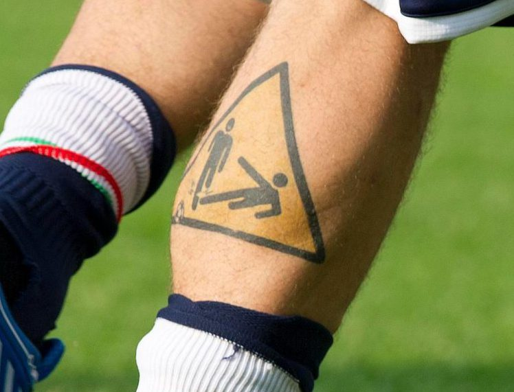 One of football's best tattoos