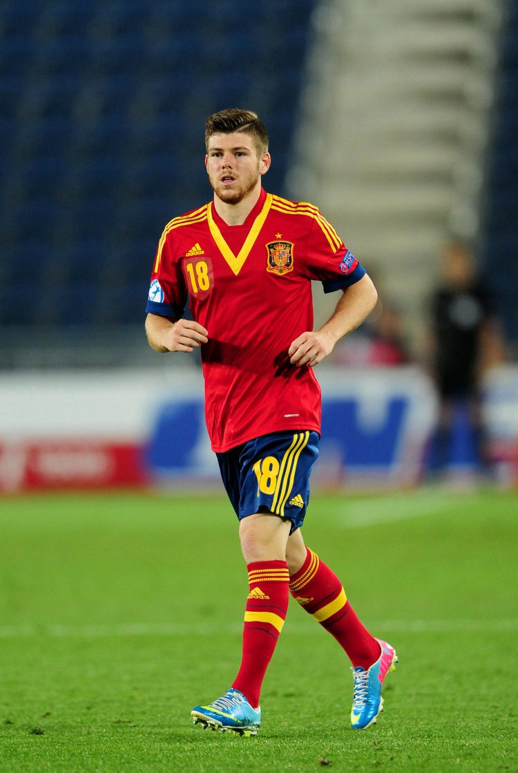 Moreno got a Spain call up in 2013!