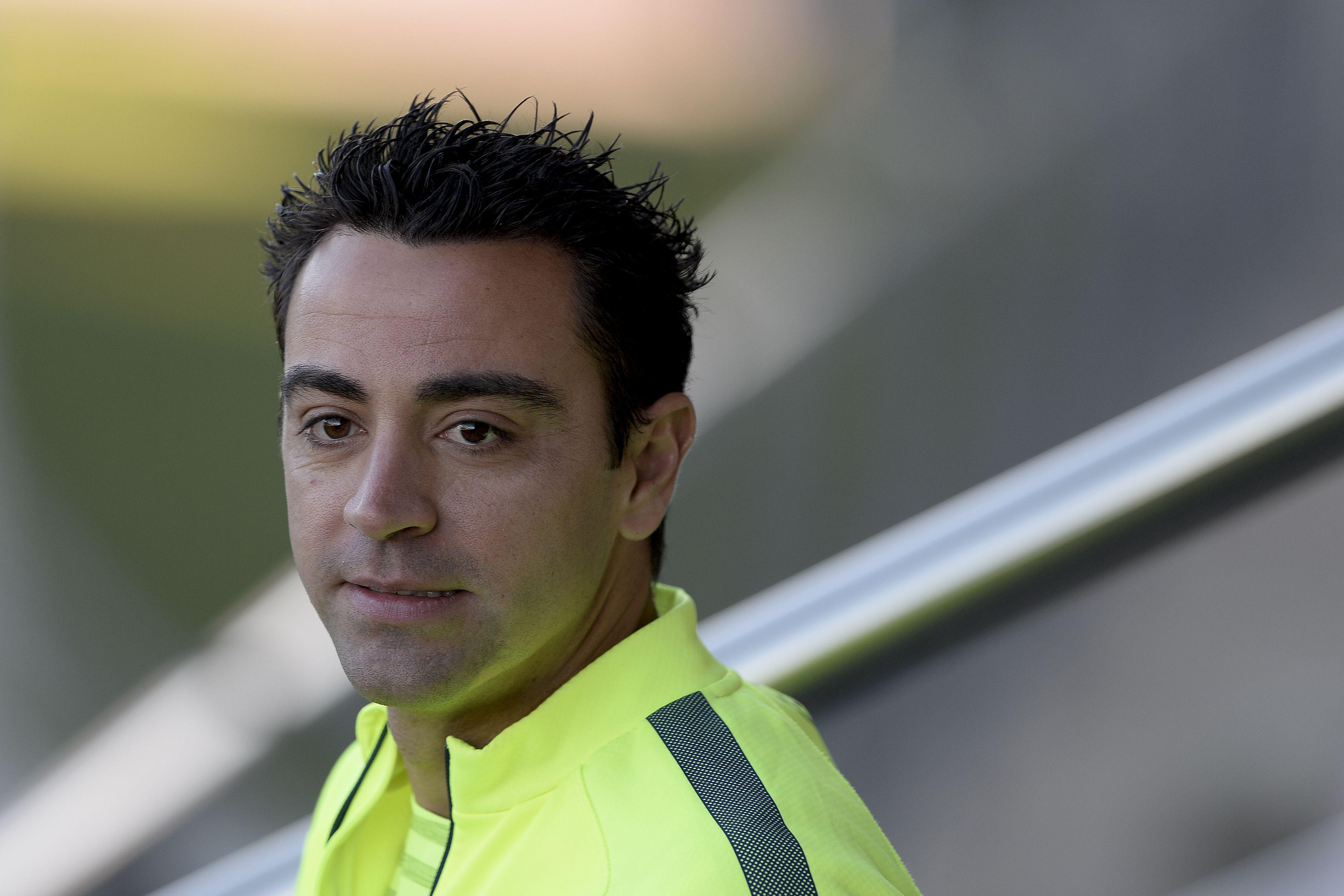 Xavi has been playing for Qatari side Al Sadd since 2015