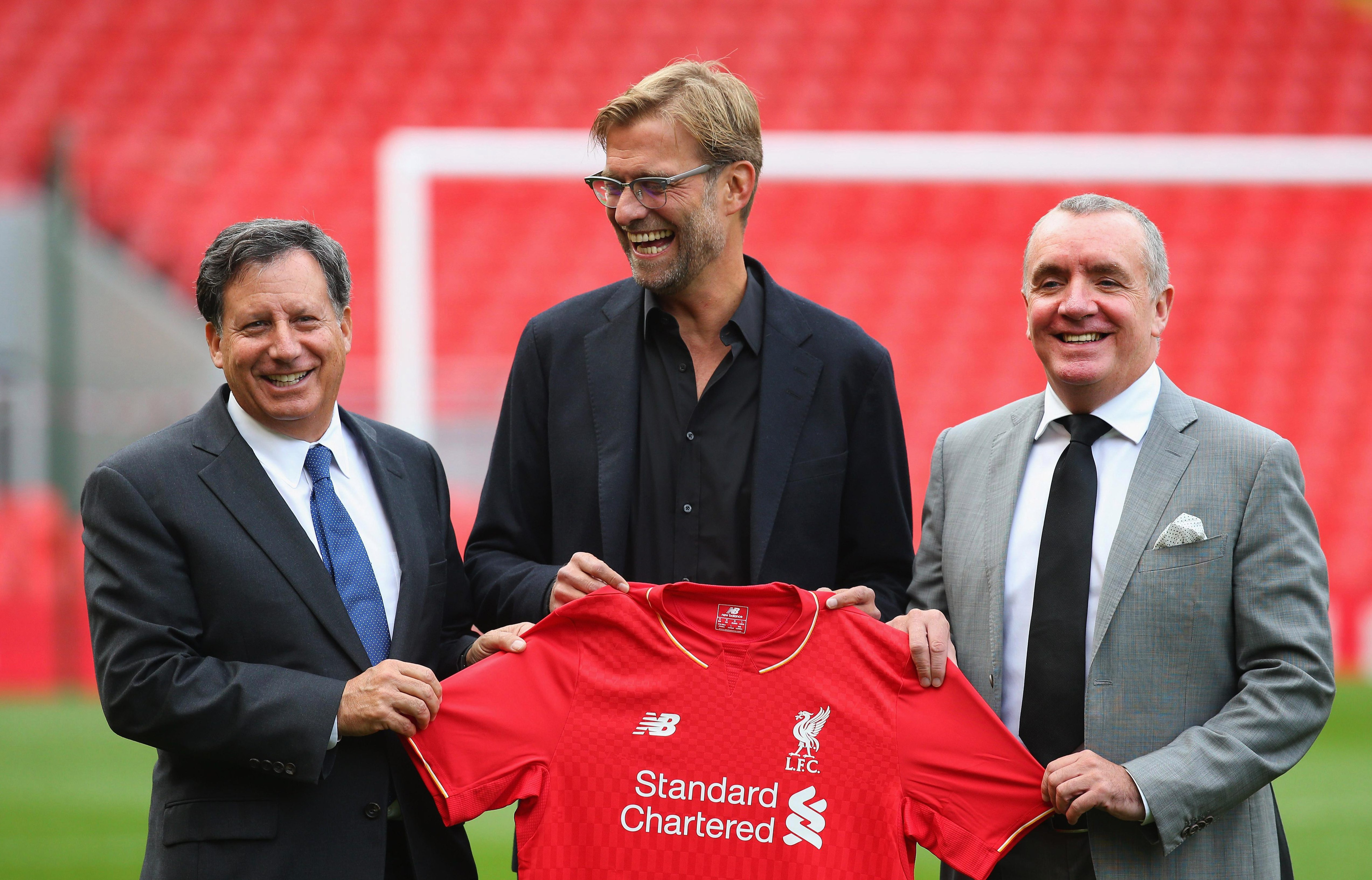 Klopp joined the Reds in October 2015