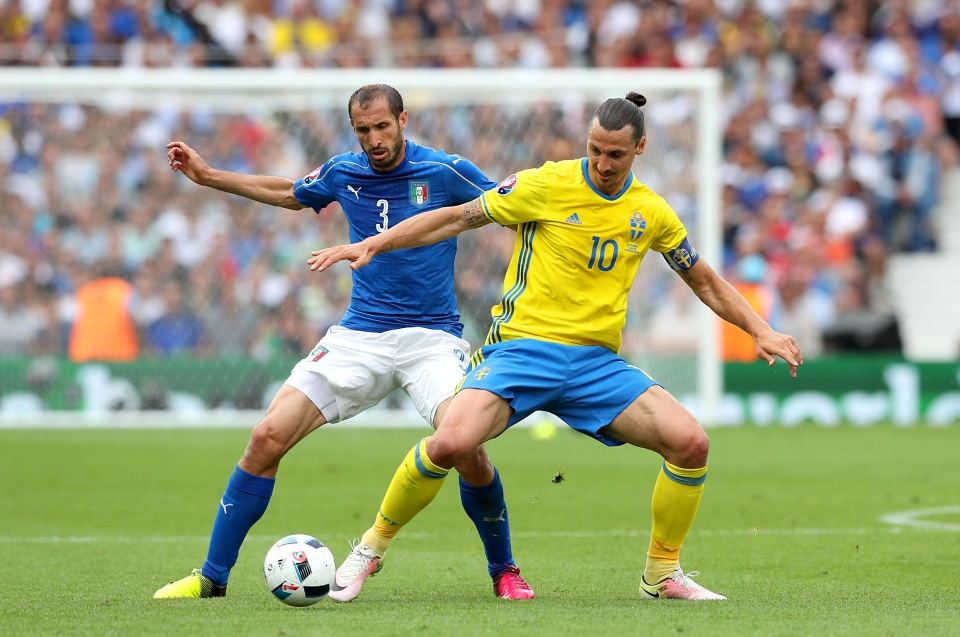 Chiellini is a dying breed of old school defenders