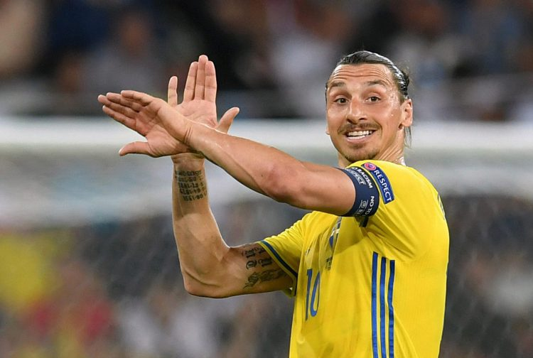 Zlatan has become pretty accustomed to the award down the years