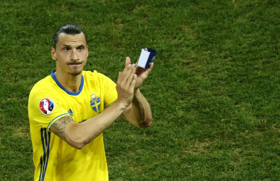 Ibra called time on his international career at the end of Euro 2016