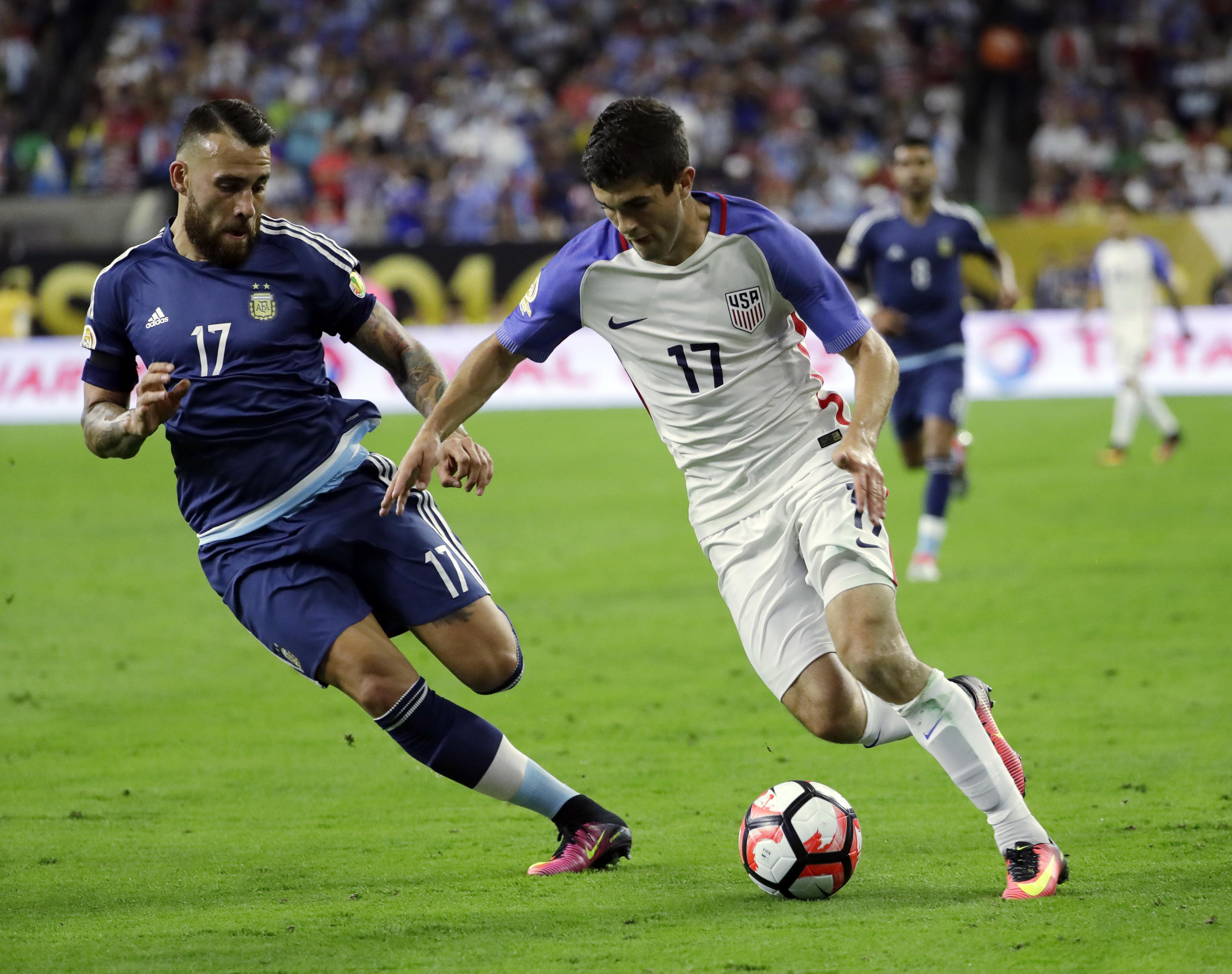 Pulisic made his debut for the USMNT back in March 2016