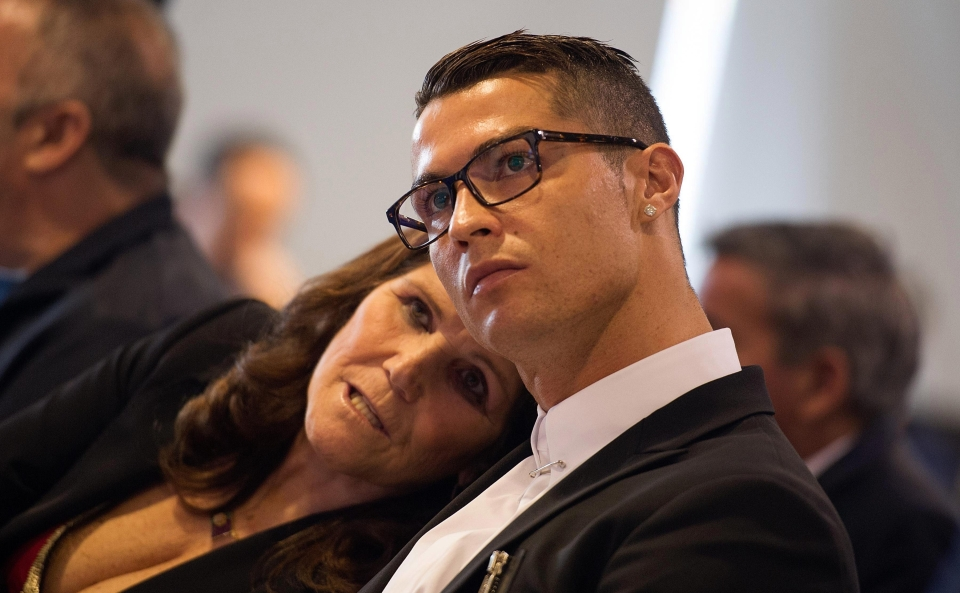 Ronaldo and Maria are extremely close