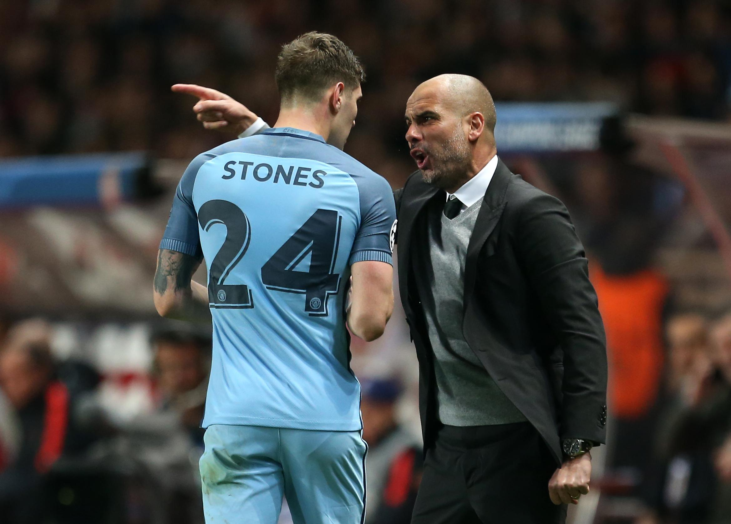 Man City defender John Stones typifies the sort of defender Guardiola loves