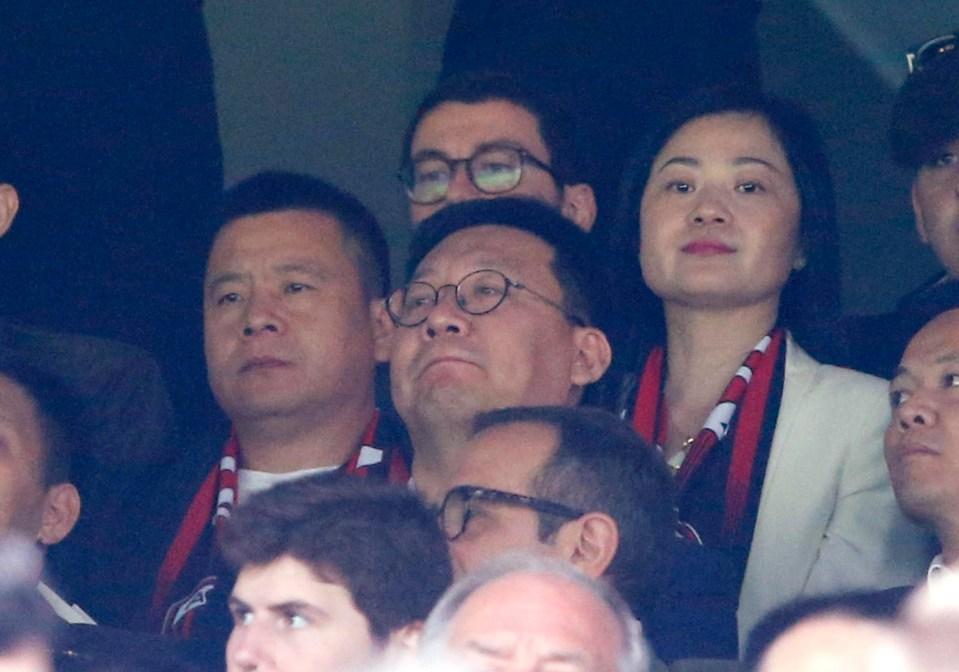 Chinese owner Yonghong Li