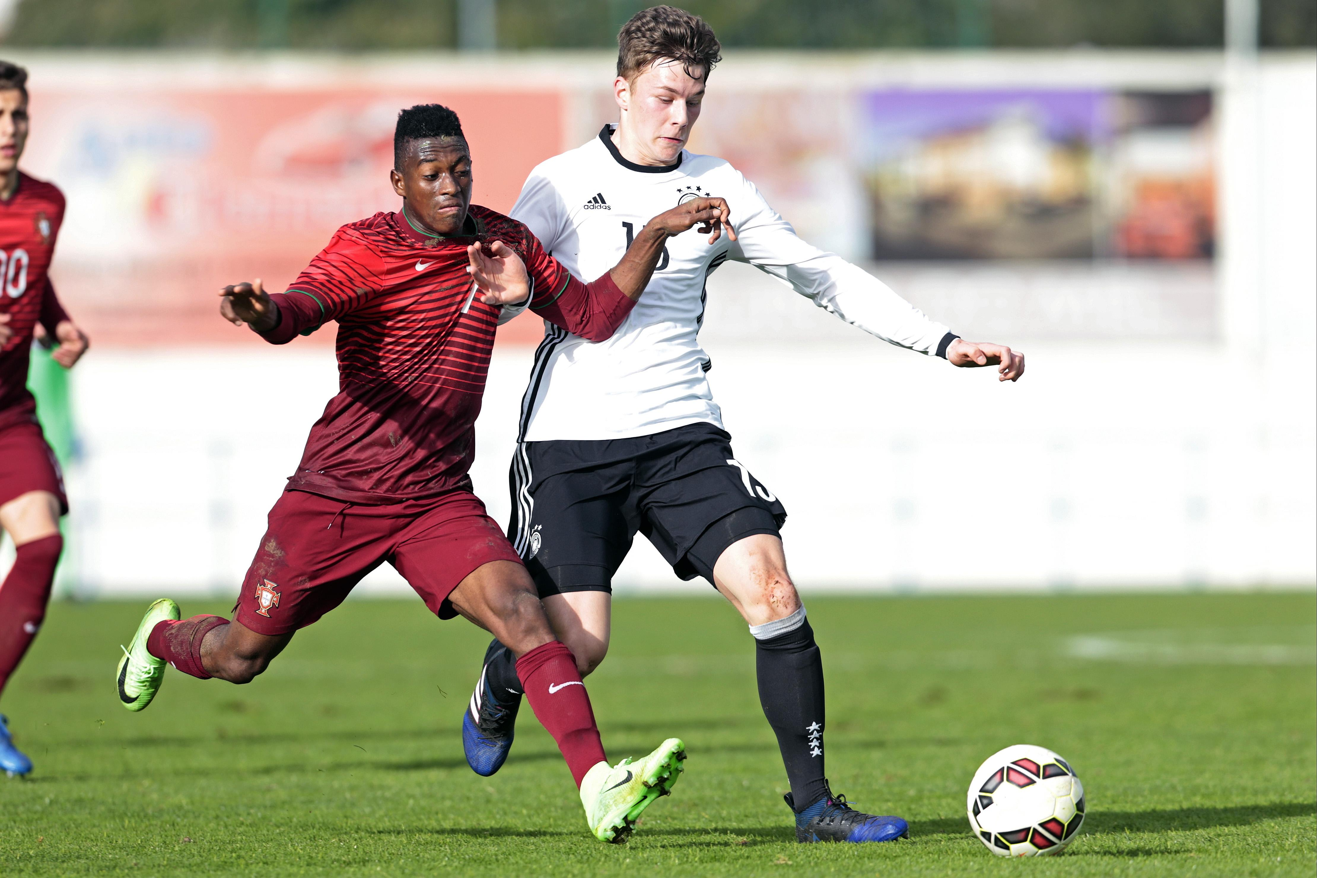 The youngster has been prolific for Portugal's Under-17s